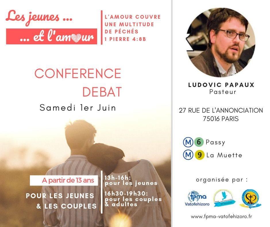 CONFÉRENCE DÉBAT SUR L'AMOUR